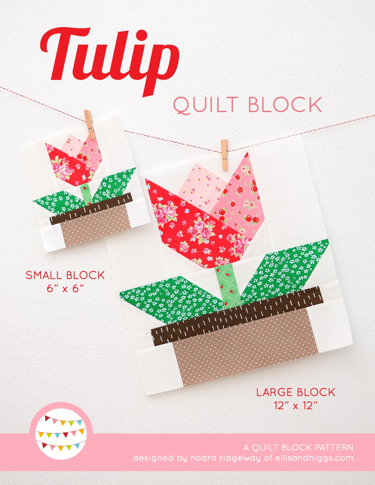 Tulip quilt blocks