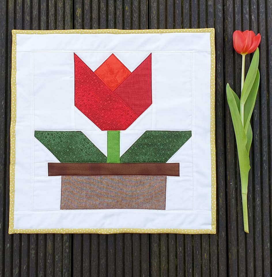 Tulip quilt pattern