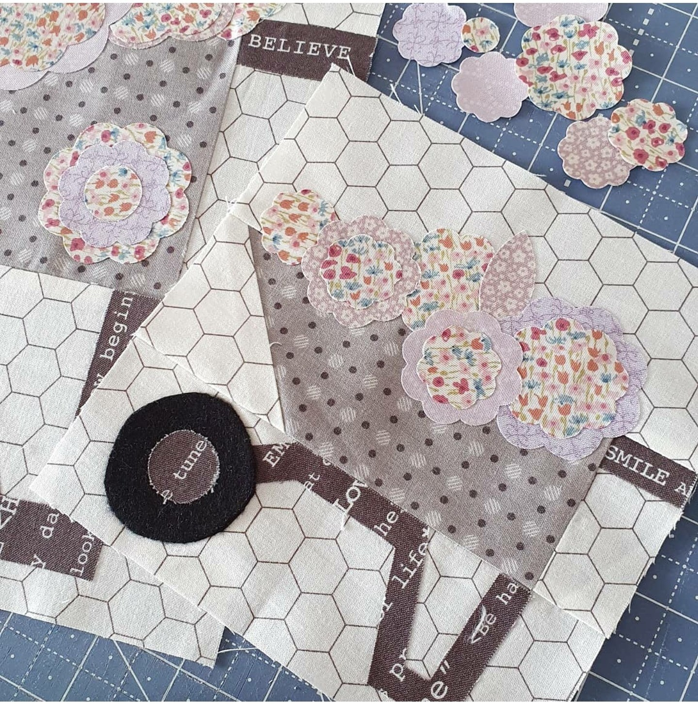 Wheelbarrow quilt pattern