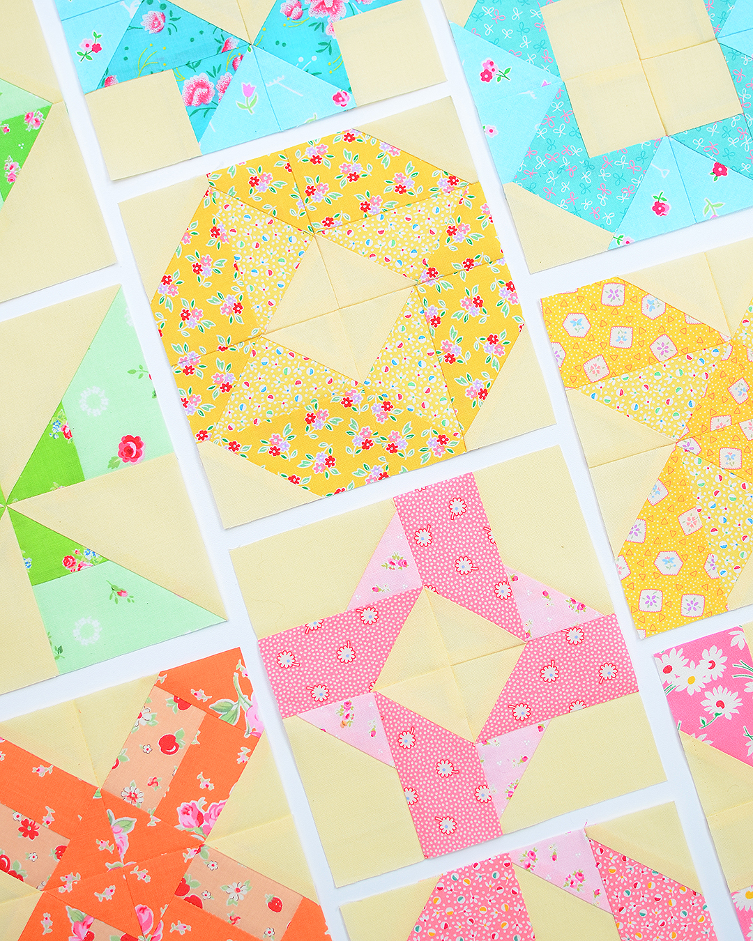 Four Patch Fun quilt blocks