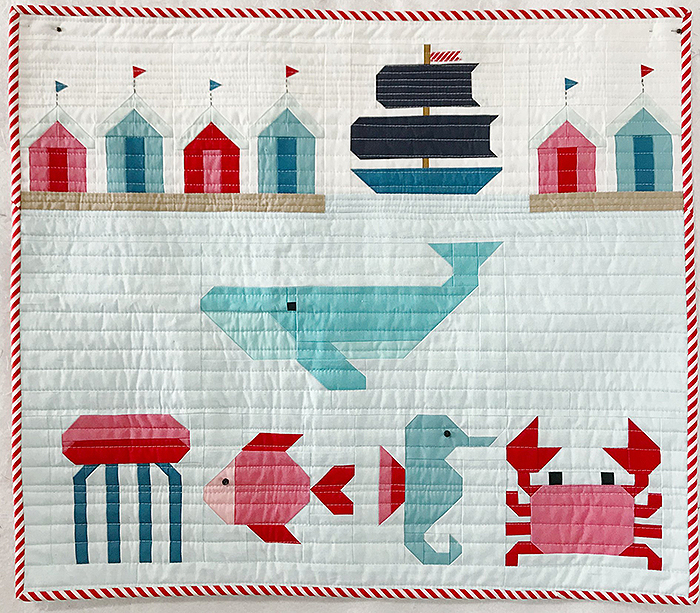 Nautical quilt pattern