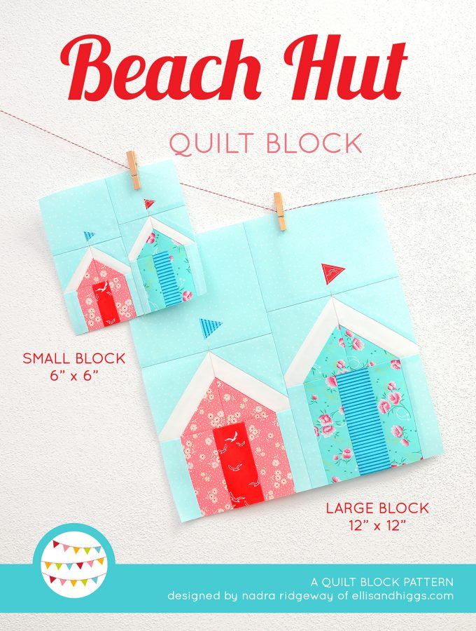 Beach Hut quilt patterns