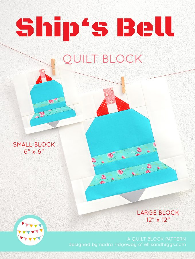 Ship's Bell quilt pattern