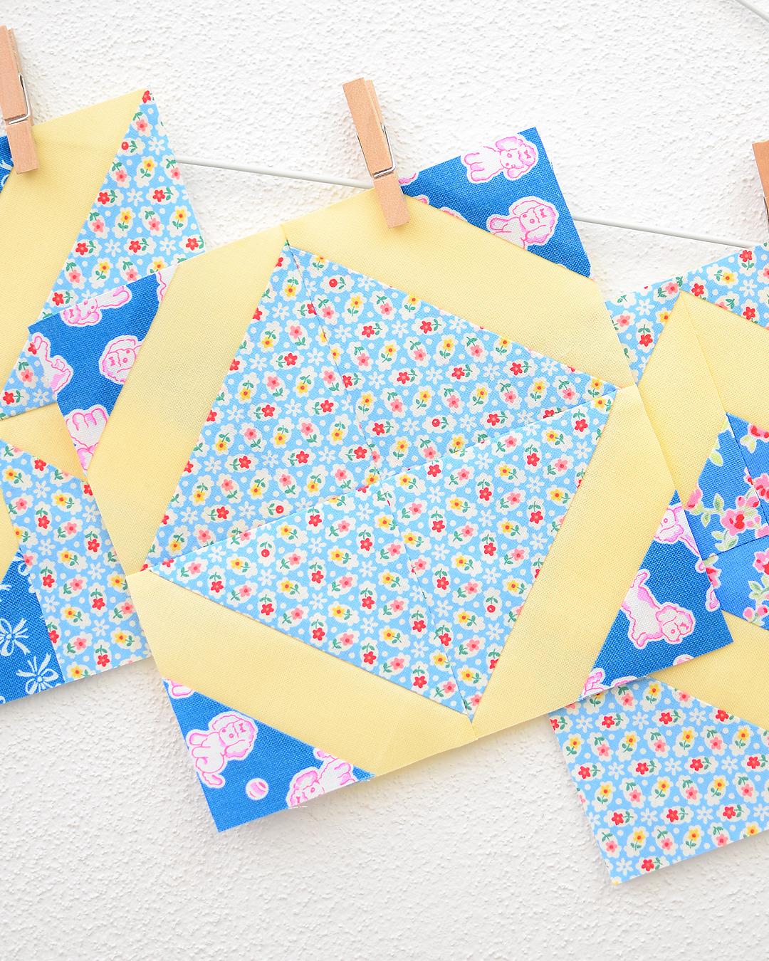 Four Patch Fun - Quilt Along - quilt blocks