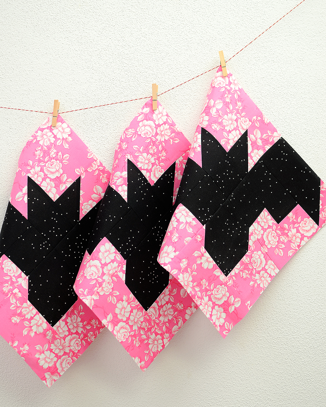Bat quilt blocks