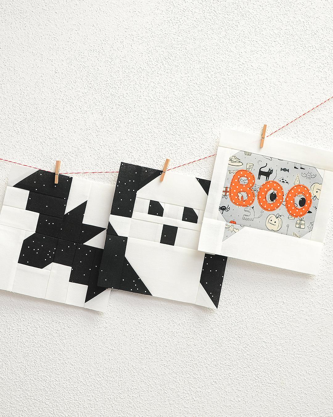Halloween Quilt Blocks