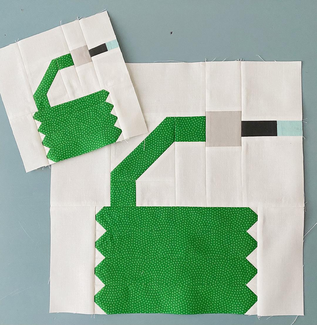 Garden Hose quilt block