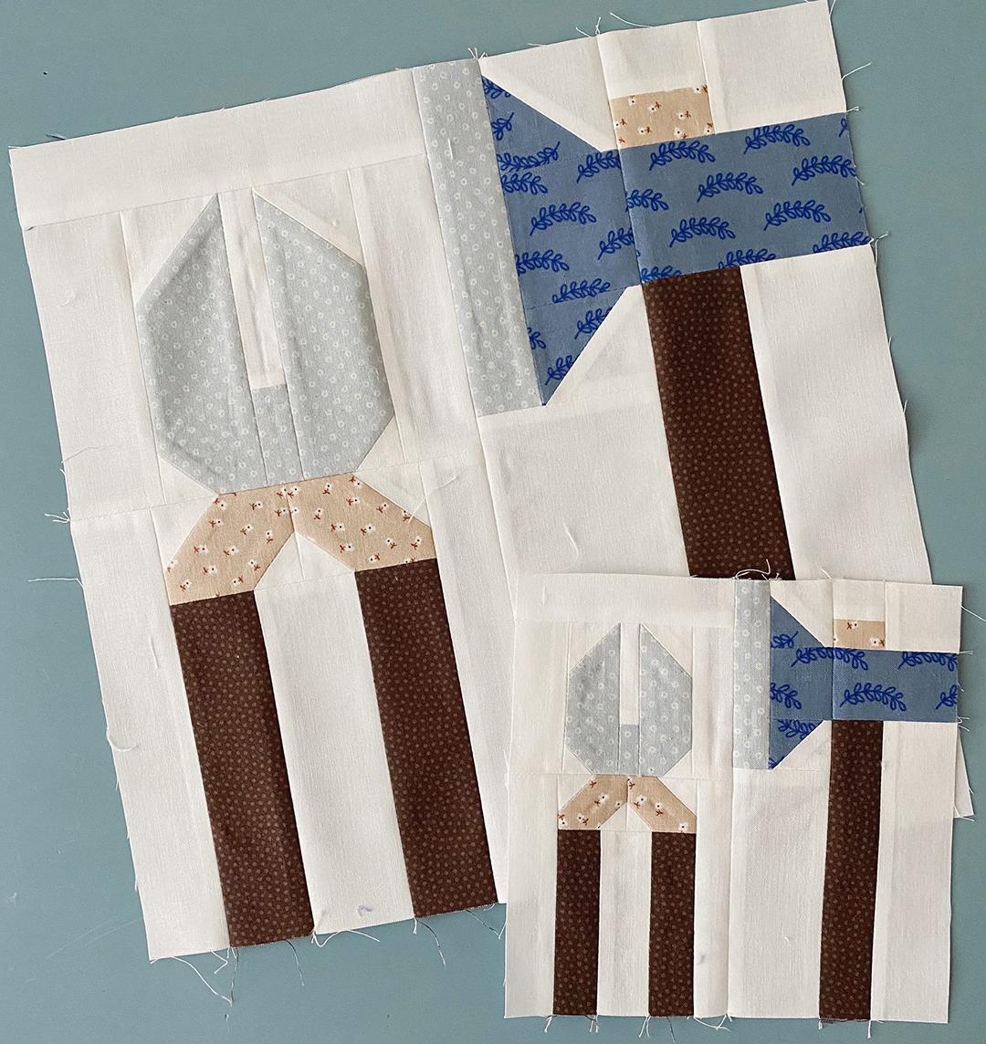 Garden Tools quilt blocks