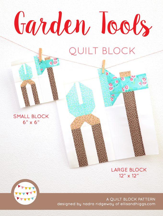Garden Tools Quilt Pattern