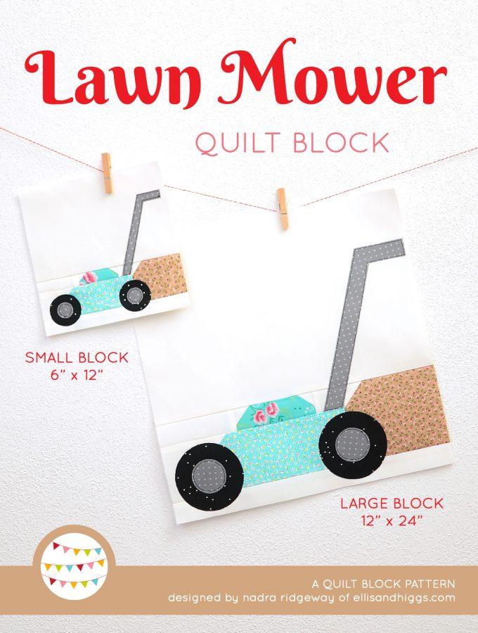 Lawn Mower Quilt Pattern