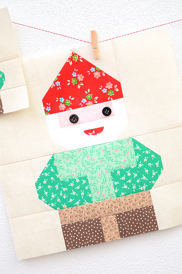 Mr. Gnome quilt pattern