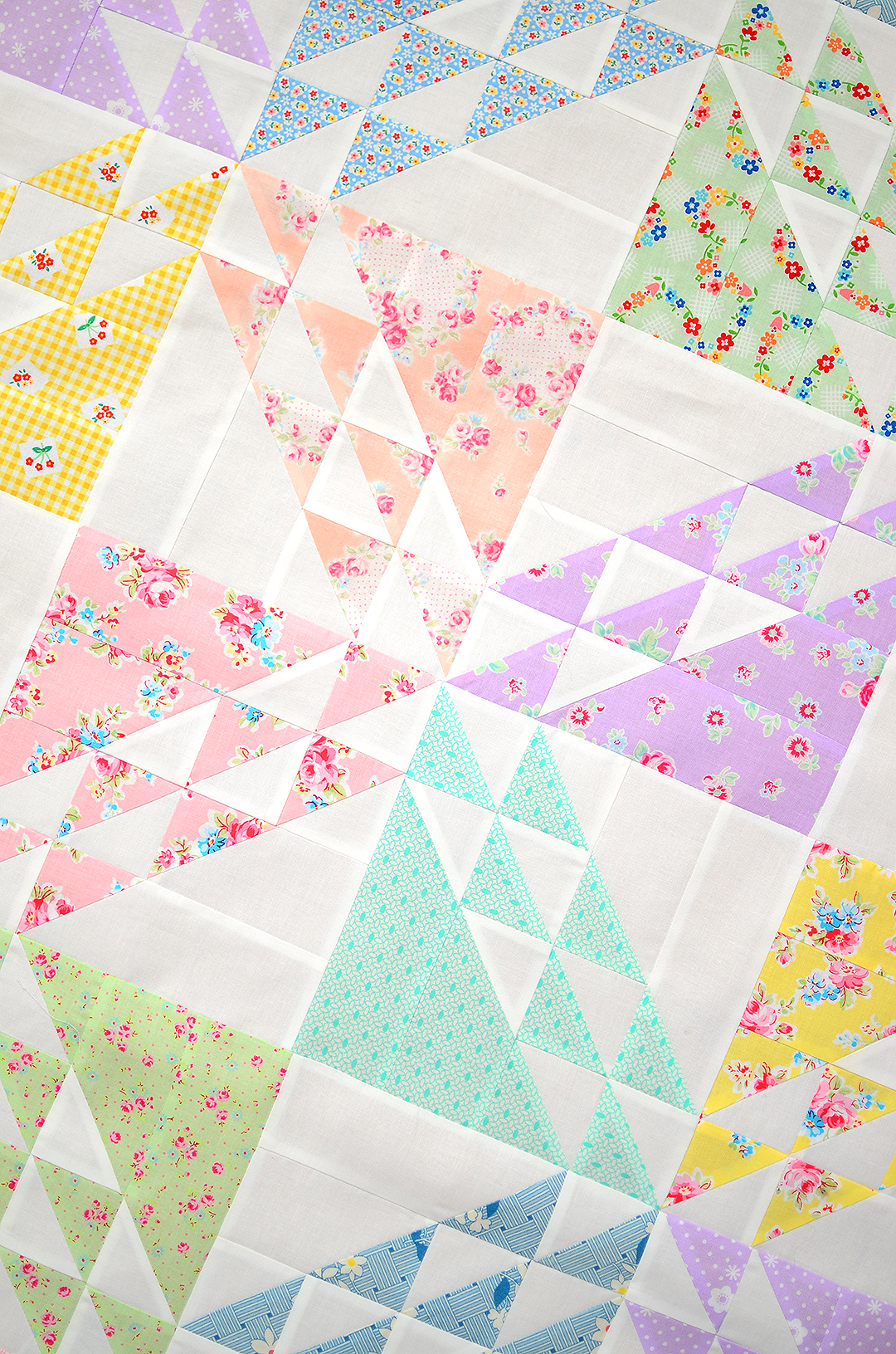 Spring Meadow - Spring Quilt Pattern