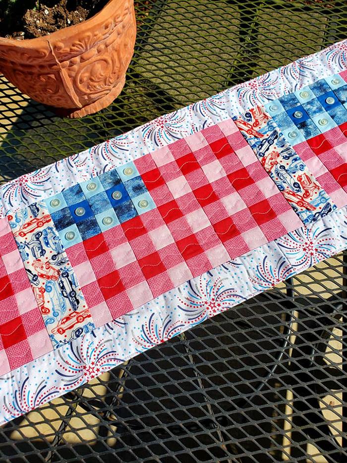 Stars & Stripes quilt pattern