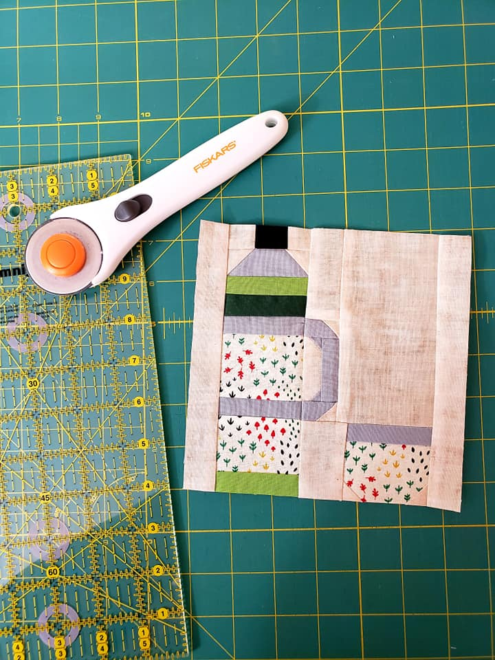 Thermos Bottle quilt pattern - Camping quilt patterns