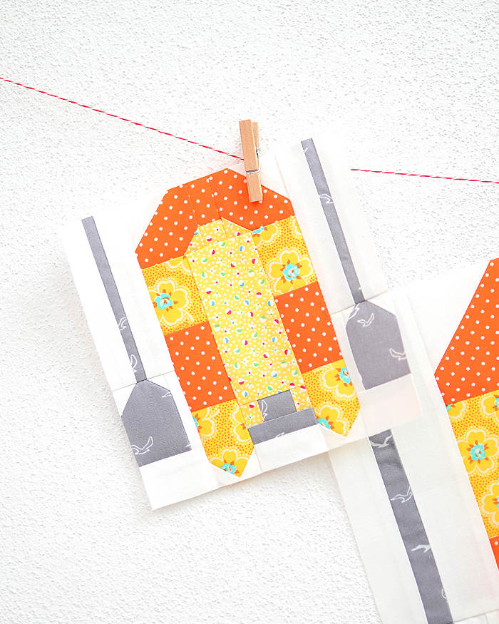 Rafting Boat quilt pattern - Camping quilt patterns