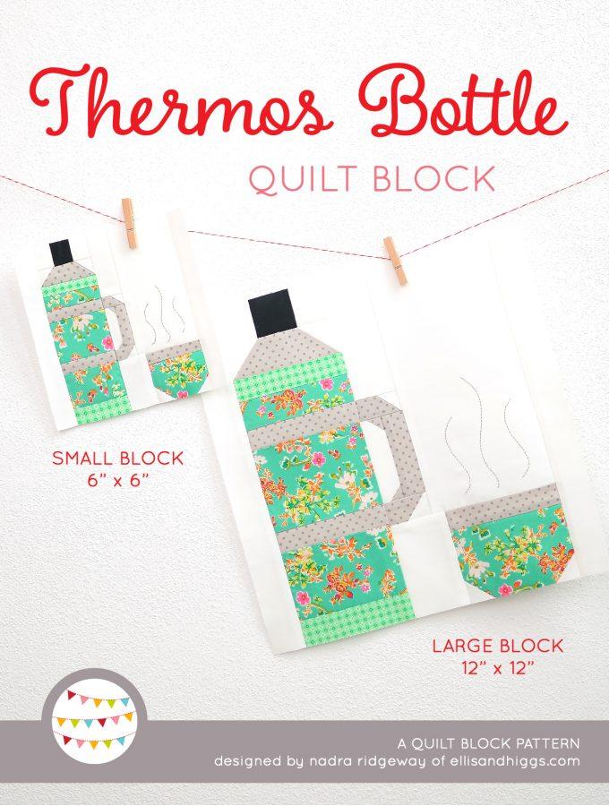 Summer quilt patterns - Thermos Bottle quilt pattern