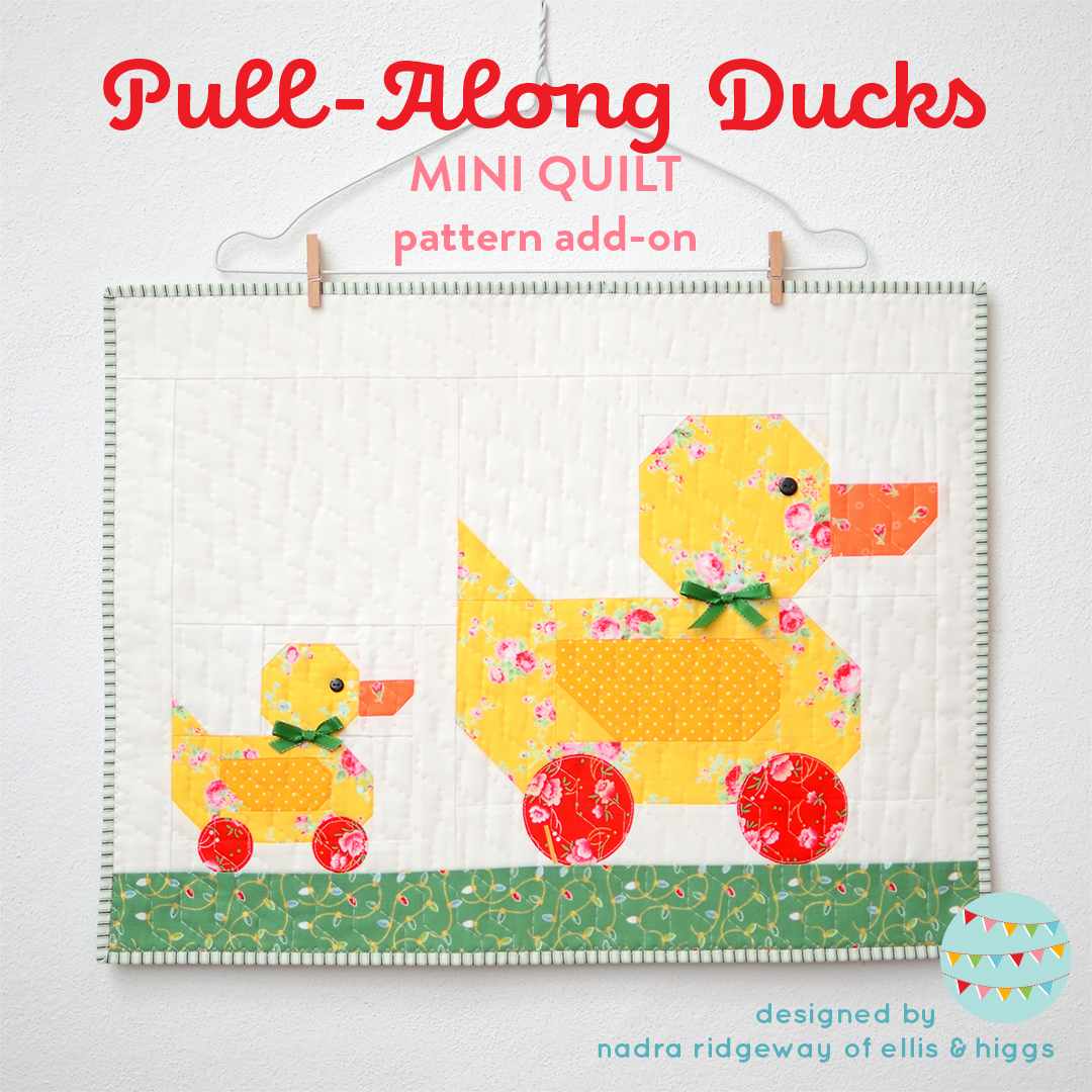 Duck Christmas quilt pattern